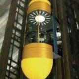 Роскошный пассажирский лифт с Ti-Gold нержавеющей стали (KJX-08)