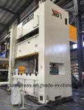H datilografa a capacidade 400ton da imprensa de potência, imprensa lateral reta aluída dobro 400ton, máquina do perfurador