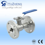 Integrar Body 1PC Flange Ball Valve com ISO Pad