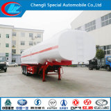 42cbm 45000 Liters BPW Axles Carbon Steel Fuel Oil Tanker Trailer