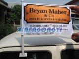 Im Freienauto-Spiegel-Markierungsfahne/kundenspezifische Auto-Markierungsfahne/Digital-Drucken-Auto-Fahne