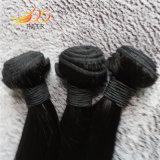 絹の直毛のWeftベトナムのバージンの毛の織り方の安い価格
