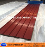 Corrugated лист толя трапецоида PPGI стальной