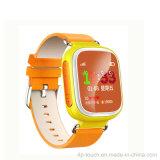O GPS caçoa o relógio do perseguidor com a tela de uma cor de 1.44 polegadas e a ranhura para cartão de SIM