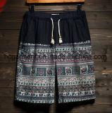 Pantaloni casuali del tessuto di tela, Shorts della spiaggia per l'uomo