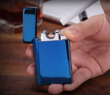 Bester Verkaufs-elegantes nachladbares Verdoppelungdoppelimpuls wir Lichtbogen-Feuerzeug