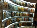 Итальянская белая мраморный плитка мозаики маштаба рыб плитки пола миниая