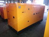 generatore diesel silenzioso eccellente 110kw/138kVA con il motore BRITANNICO Ce/CIQ/Soncap/ISO della Perkins