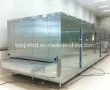 急速冷凍する高品質のパン肉シーフードのアイスクリームのトンネル