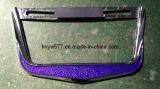 Luctieのカスタマイズされた明確なプラスチックによって塗られるネームプレートか紋章