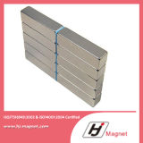 Superenergie passte Block permanenter NdFeB der Notwendigkeits-N38 N50/Neodym-Magnet für Motoren an