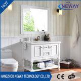 Mobília clássica do banheiro da antiguidade da vaidade do gabinete da HOME do projeto da madeira contínua