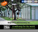 멕시코 프로젝트에 있는 1채의 지면 이동할 수 있는 모듈 K 조립식 집