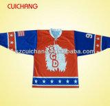 Изготовленный на заказ профессиональный хоккей на льду Джерси с сублимацией