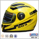 Холодный штейновый черный шлем мотоцикла полной стороны (FL106)