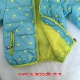 Зима Waterproof Windproof Breathable Woven Quilted Jacket/Coat для Kids