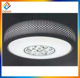 Il migliore indicatore luminoso di soffitto di plastica rotondo copre la lampada per la casa