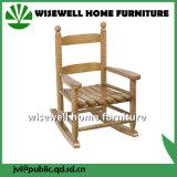 Cadeira de balanço tradicional dos miúdos de madeira