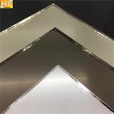spiegel van het Brons van het Blad van de Spiegel van Frameless van de Spiegel van het Glas van de Deklaag van de Spiegel van 3mm de Zilveren Dubbele Groene Roze