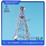 4개의 다리가 있는 통신 탑/각 강철 탑이 강철에 의하여 직류 전기를 통했다