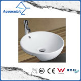 Dispersore di lavaggio di ceramica del bacino di arte del Governo e della mano del grembiule (ACB8169)