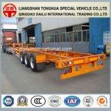 De Oplegger van het Vervoer van de Container van de Aanhangwagen van de Vrachtwagen van het Skelet van de fabriek 45FT