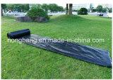 China-Fabrik-UV-BEHANDELTe Schwarzespp. gesponnene Weed-Steuermatte