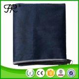 濃紺のコンパクトなカスタム使い捨て可能なピクニック毛布