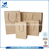 Extrême dans le sac de papier de Papier d'emballage Brown de commodité