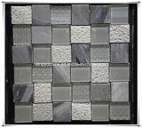 Mosaico de mármol del arte Glass+Marble del mosaico del espejo del mosaico del azulejo de mosaico de la fuente