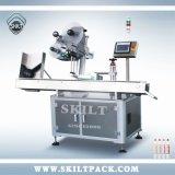 Подгонянная машина для прикрепления этикеток пер стикера Skilt горизонтальная