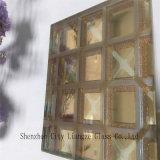 Vidrio ultra claro del vidrio/arte del vidrio laminado/arte del espejo/vidrio Tempered para la decoración