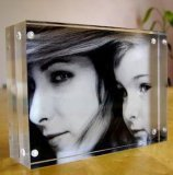 """marco de acrílico de la foto 8 """" 10 """" 12 """" con magnético"""