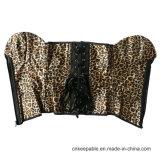 Корсет профилировщика тела тренера шкафута леопарда застежки -молнии женщин сексуальный