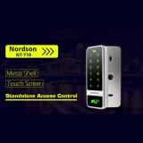 Metal Case Narrow Frame Design Touch Scree Controle de Acesso para Sistema de Controle de Acesso