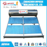 Calefator de água solar pressurizado da câmara de ar de vácuo