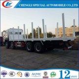 Sinotruk HOWO 8X4 Logggin Tray Truck com Bandeja de Logging