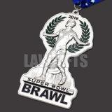 Professtionalのカスタム3Dロゴの装飾のニッケルメッキのスポーツの学術の金属賞メダル