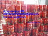 容易な開いたふたが付いている缶詰にされたトマトのりブリックス28-30%