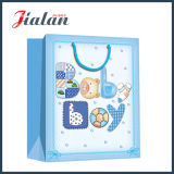 Gefärbt nettes Baby billig gelassen, gedruckten Papier-Kleidungs-Beutel zu konzipieren