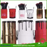 Les marques de brosses de lecture composent les nécessaires cosmétiques de balai d'outils de beauté de poudre de base