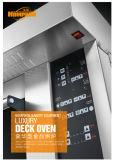 3 Plattformen 9 Tellersegmente spalteten Form-Glastür fortgeschrittenen Gas-Spray-Ofen mit Digital-Controller für Geschäft auf (WFC-309QHAFE)