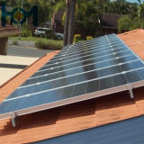vidro solar branco super do baixo ferro Tempered do uso do módulo de 3.2mm picovolt