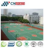 Pavimentazione resistente all'uso multiuso della corte di sport per la superficie del campo sportivo