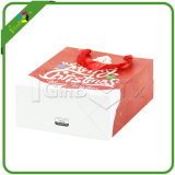昇進のカスタムロゴのクリスマスのペーパーショッピング・バッグ