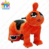 Juguete de interior animal de la vespa del montar a caballo de la diversión de la batería de la familia enérgica de Qizai
