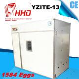 Hhd 1584の卵の自動鶏は熱い販売のための定温器に卵を投げつける