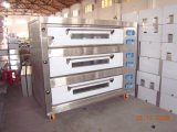 Máquina eléctrica del horno de la hornada del pan de la panadería de 3 bandejas de la cubierta 9 (HEO-30-3)