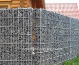 Fio de metal Gabion das pedras para o edifício