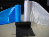 Bolsos plásticos coloridos de la basura, bolsos de basura